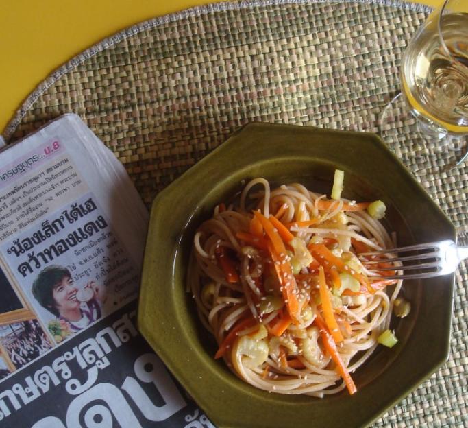 Spaghetti Thai facili facili