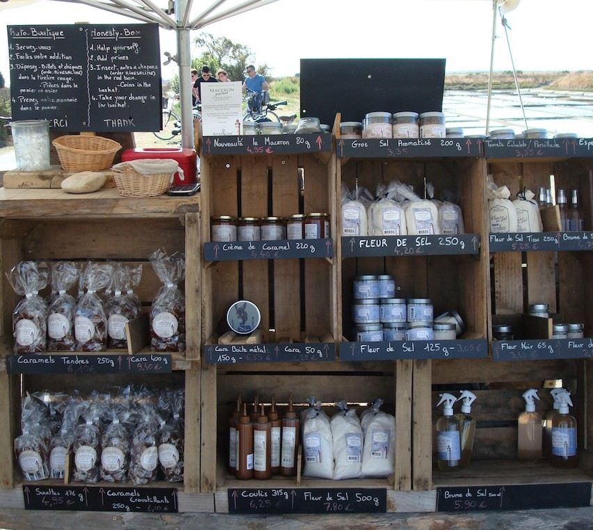 An open air… honesty shop