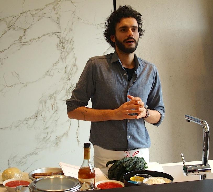 Marco Bianchi cucina con il pomodoro Vallivo