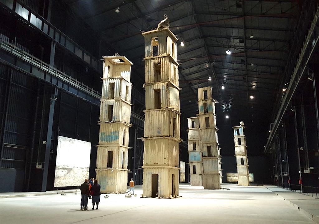 Sette Palazzi Celesti all'Hangar Bicocca a Milano