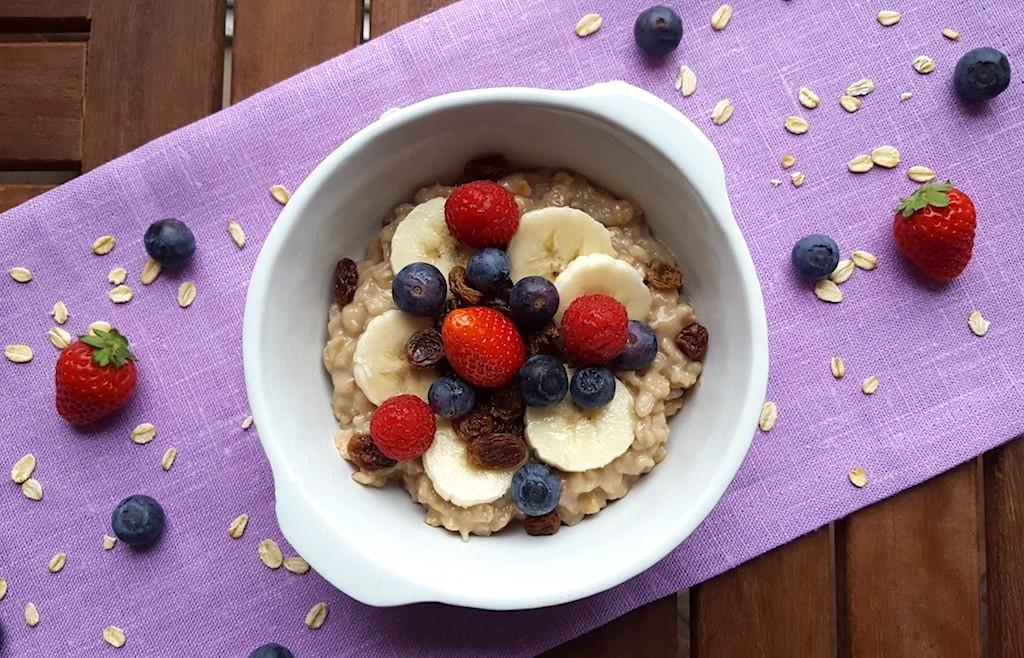 Porridge per una colazione super energetica molto British